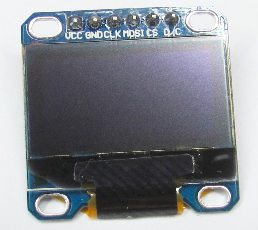 SPI/I2C SSD1306 OLED Driver