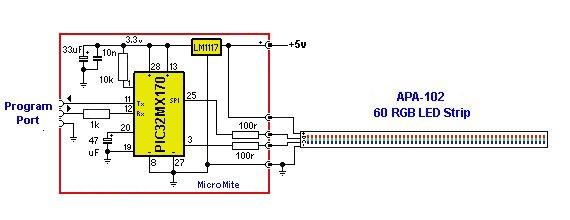 APA 102 LED Strip